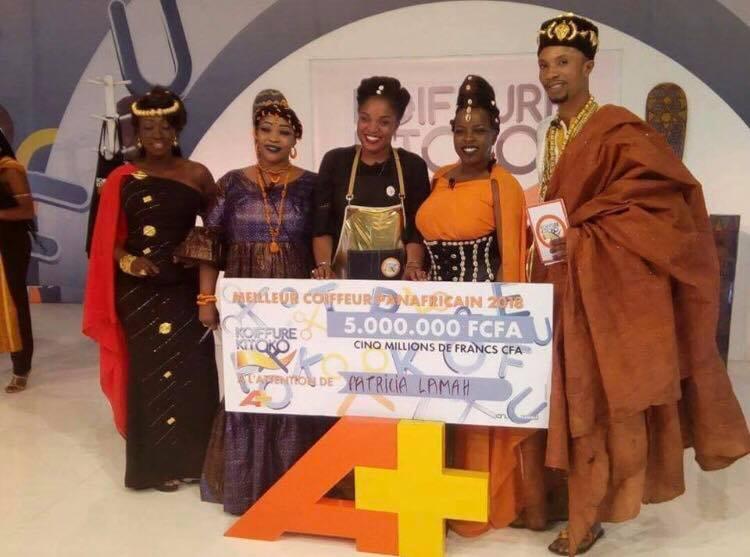 Concours Coiffure Kitoko La Guineenne Patricia Lamah Remporte Le